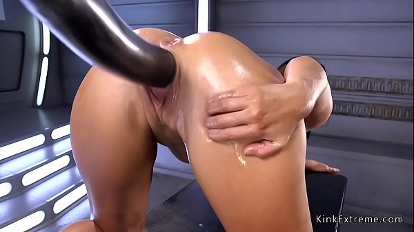 Double penetration, Double anal, Fucking machines