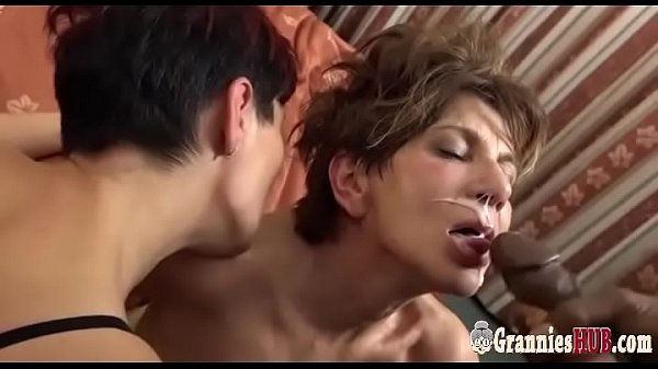 Granny, Granny anal, Big cock anal, Bisexual, Lovely granny, Granny anal black