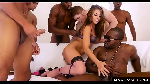 Interracial anal, Anal gangbang, Anal interracial, Double anal, Adriana chechik