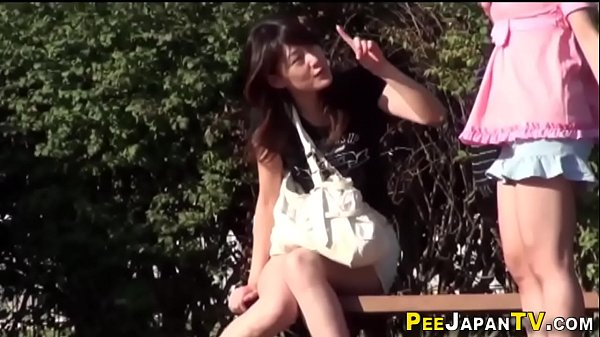 Pee, Asian teens