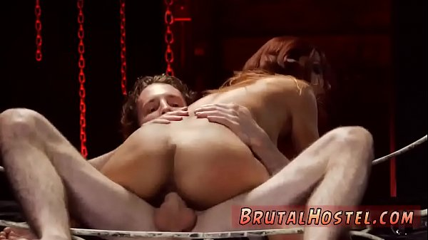 Teen creampie, Amateur threesome, Bed