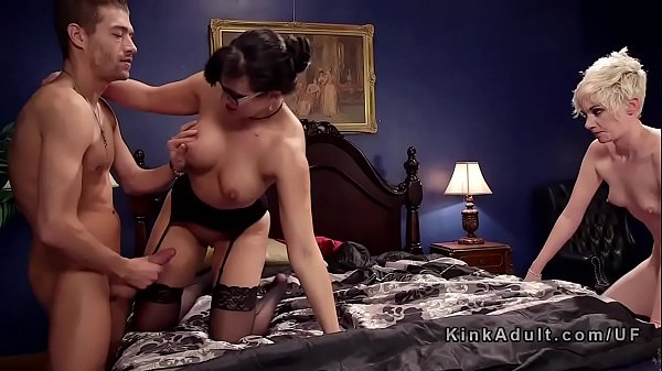 Milf anal, Anal threesome, Blonde anal