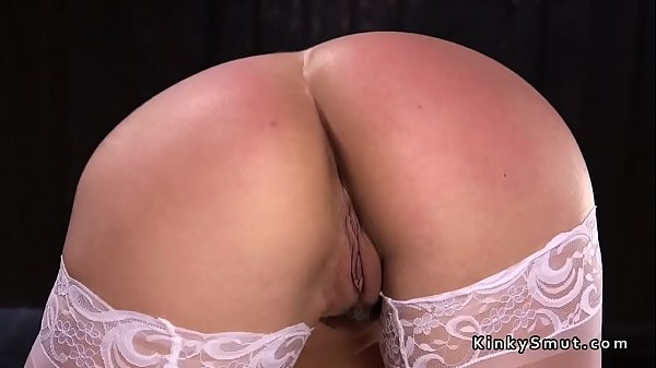 Spanking, Stockings, Ass slave, Spanking ass