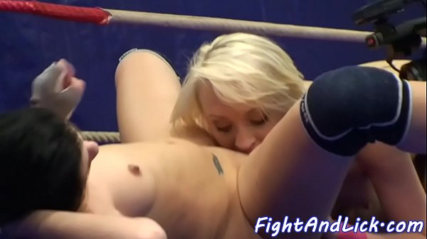 Wrestling, Pussy eating