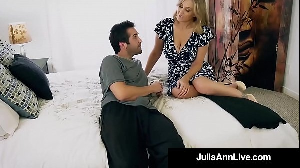 Anne, Julia ann, Step son, Son mom, Mom n son, Milf faces