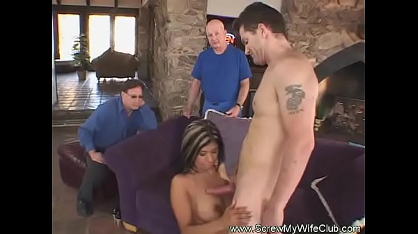 Swing, Wife watching, Latina wife